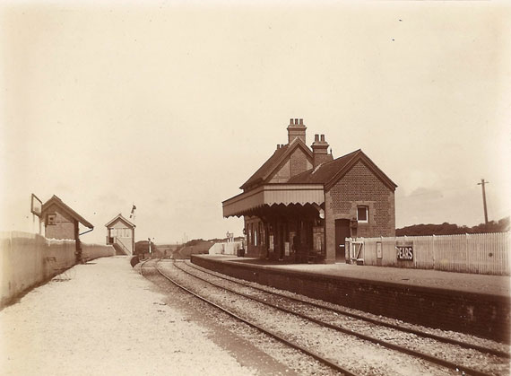 Whitwell Station circa 1920